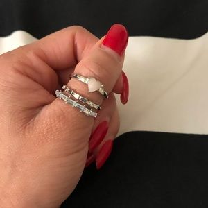 Jewelry - Set of two rings size 7